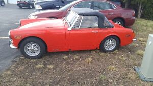 1973 MG Midget Convertible Windsor Region Ontario image 3