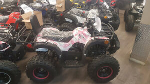 SALE KIDS 125CC ATV MANY COLORS IN STOCK