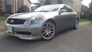 2005 Infiniti G35 coupe, only 92,000 kms with extras! FALL PRICE