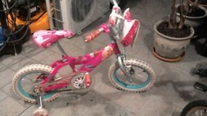 Bicycle Barbie 14 pouces pour Fillette