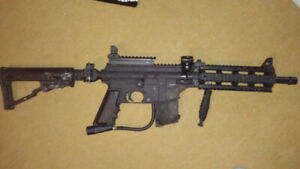 Paint ball guns and accessories