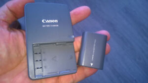 Canon CB-2LW Charger and  NB-2LH Battery
