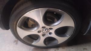 """4x Volkswagen 18"""" Huffeisen """"Huff"""" wheels"""