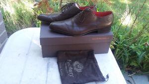 European Finsbury leather shoe