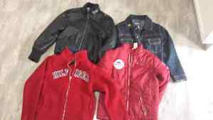 Boys size 7. FIVE coats for 20.00.
