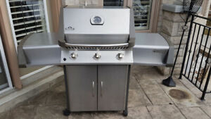Napoleon Prestige Series Stainless Steel Natural Gas Grill, BBQ
