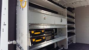 Commercial Van Shelving, Racks, Equipment
