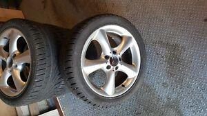 Mercedes Benz C230 17in. rims/winter tires