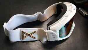 Gold tinted white anon goggles!