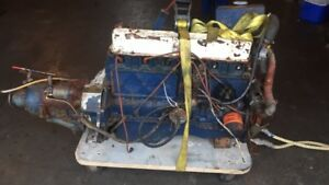 marine 292 engine and velvet drive transmission $500 text 902 22