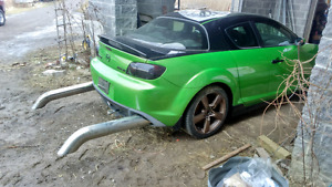 2004 Rx8 for parts or race car.