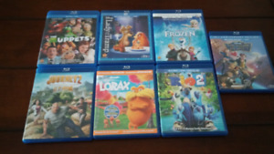Kids Blue Ray Movies $5 each