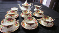 Royal Albert Bone China most valuable edition England-Best Offer