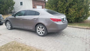 2011 Buick LaCrosse with winter tires 8,500 Or best offer!