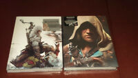 Assassins Creed 3 and 4 Hardcover Strategy Guides *SEALED*