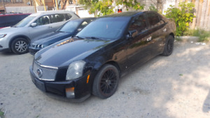 2006 cadillac cts with 18 inch rims 190km 3500$