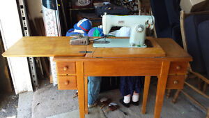 BROTHERS SEWING MACHINE IN CABINET  reduced