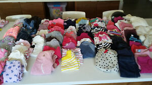6-12 month baby girl clothing - over 90 items