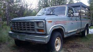 1981 Ford F-250 4x4 Pickup Truck, NEW PRICE: 1 cord of firewood