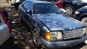 1992 MERCEDES BENZ 300CE PARTING OUT