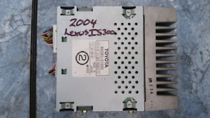 2004 Lexus IS250 / IS300 Stereo Amp PN# 86280-53050