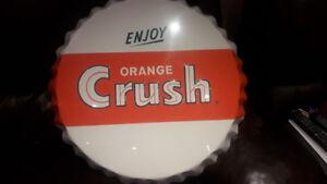 """Orange Crush Porsoline Cap 24"""" **Excellent Condition**"""