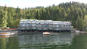WATERFRONT townhouse in Eagle Bay on the Shuswap Lake!!