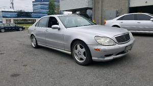 2001 MERCEDES BENZ S500. AMG PACKAGE.