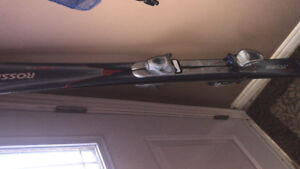 Used downhill skis
