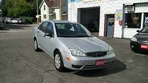 2005 Ford Focus ZX4 AUTOMATIC 171,000km Safety/E-tested!