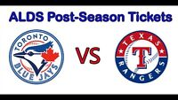 Blue Jays vs. Texas Rangers Playoff Tickets Game 1