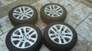 225 50 16 winter tire + 16 '' BMW mags