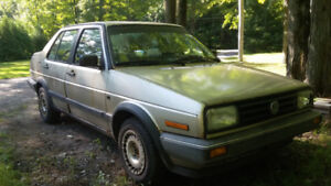 vw jetta gl 1988 + tons of parts