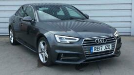 image for 2017 Audi A4 2.0 TDI S Line 4dr Saloon diesel Manual