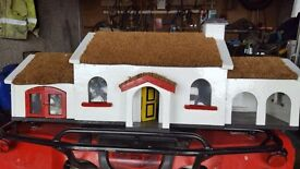 Thatched cottage ornament