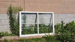 Antique window sashes / frames / panes