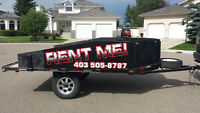 Sled ATV Utility Trailer for Rent. Trailer rental