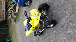 2006 Suzuki Ltz400 whats out there for trades!?!