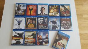 14 Blu-ray à vendre