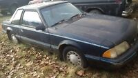1988 Ford Mustang 4 cylinder for parts