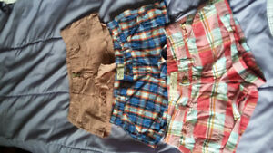 Shorts Hollister, and American Eagle. Size 3