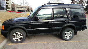 Fully Loaded low mileage Land Rover Discovery