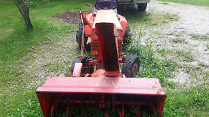 Gravely lawn tractor ando attachments.
