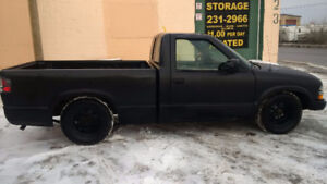 Safetied 2003 Chevrolet S-10 Pickup Truck