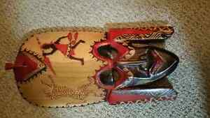 Exotic Hand crafted masks from Africa Kitchener / Waterloo Kitchener Area image 1