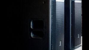 PAIR JBL 812 1500 W SPEAKERS FOR SALE