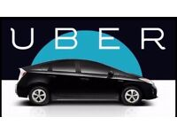 UBER READY TOYOTA PRIUS £31.50 PER DAY INC INS