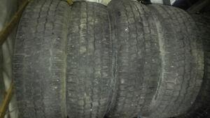 4 pneus 185-70R14