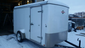 6x12 Enclosed Trailer with MANY EXTRAS