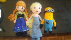 Plush toys made from yarn Windsor Region Ontario image 1